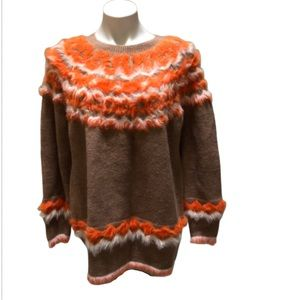 NWT Marc New York Nordic style soft sweater, large